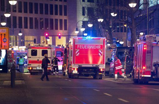 Liveticker zum Berliner Breitscheidplatz: Anschlag auf Weihnachtsmarkt schockiert Deutschland ...