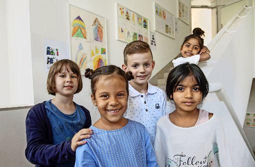 Kinder-Kunst in der städtischen Galerie