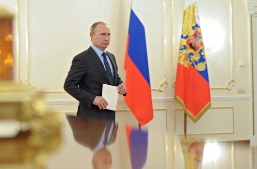 Burkhalter soll auf Putin einwirken