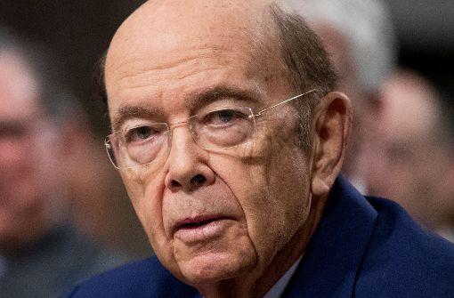 US-Handelsminister Ross kommt nicht