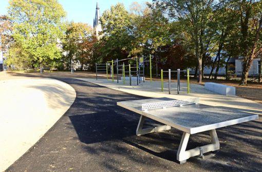 Park öffnet Mitte November