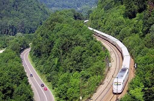 Von Wendlingen nach Ulm ist eine Neubaustrecke geplant. Foto: dpa