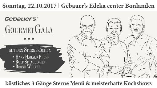 Gebauer's Gourmet Gala 2017 im E-Center Bonlanden