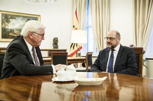Bundespräsident Steinmeier hofft auf baldige Regierungsbildung