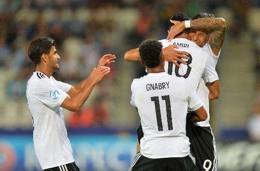 Deutsche U21-Fußballer vor Halbfinal-Einzug bei EM: 3:0 über Dänemark