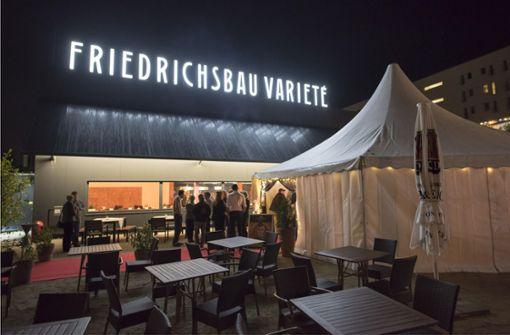 Seit 2014 ist das Friedrichsbau Varieté am Pragsattel beheimatet. Jetzt gibt es die passenden Stühle zur zweiten Spielstätte. Foto: 7aktuell/Oskar Eyb