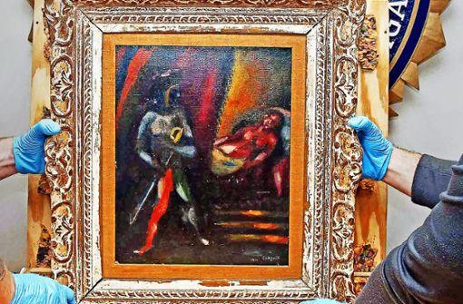 Gestohlener Chagall nach 30Jahren wieder aufgetaucht