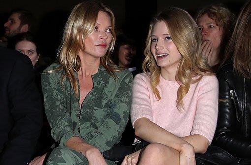 Die Moss-Schwestern in der Front Row