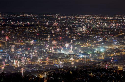 Atemberaubender Blick aufs Silvester-Feuerwerk