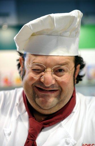 Sante de Santis war italienischer Koch mit Restaurant im Heusteigviertel, Hochbuchautorr und Fernsehkoch. Foto: dpa