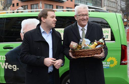 Grünen-Chef rechnet mit Kretschmann als Spitzenkandidat