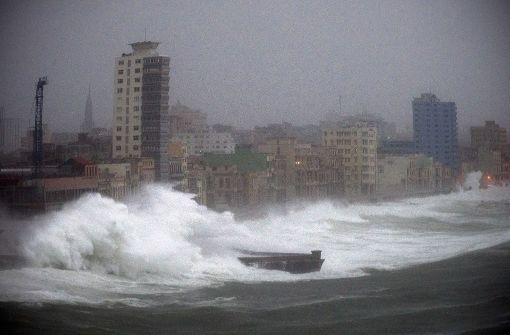 Wirbelsturm richtet auf Kuba schwere Schäden an