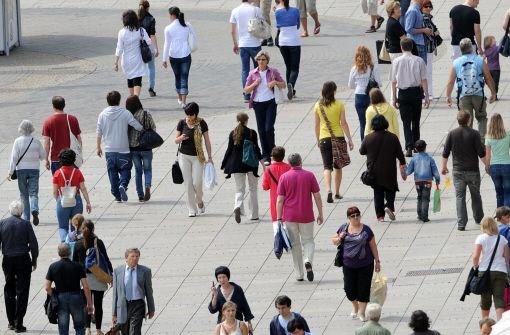 Einwohnerzahl im Südwesten auf Höchststand
