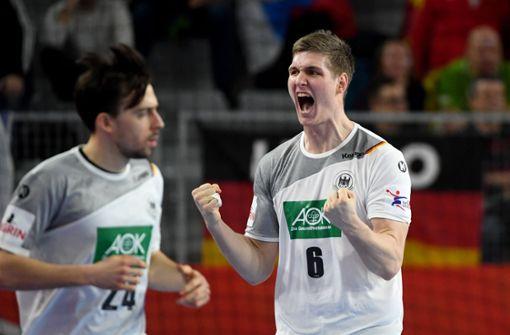 Glücklicher Sieg für Deutschland gegen Tschechien