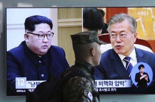 Kim Jong Un wird Grenze zu Südkorea überqueren