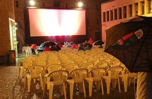 Kein würdiger Kino-Abschied dank Regen und Kälte