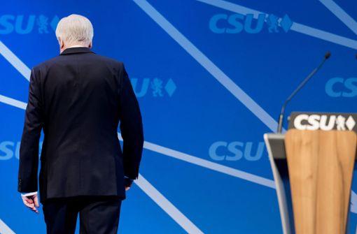 Seehofers Rücktritt ist unvermeidlich