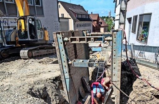 Bahnhofstraße ist ab Dienstag teilweise gesperrt