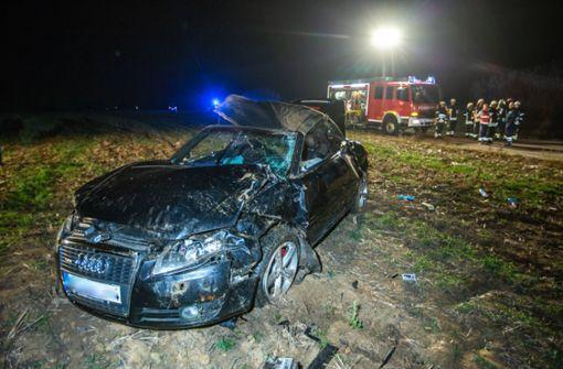 Audifahrer verunglückt tödlich
