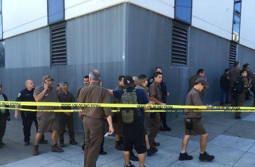 Tote bei Schießerei in Paketdienst-Filiale