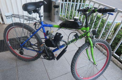 Fahrradfahrer düst mit Tempo 80 an Polizei vorbei