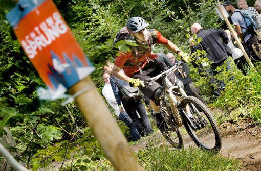 Der Wald als Kulisse für den Sport
