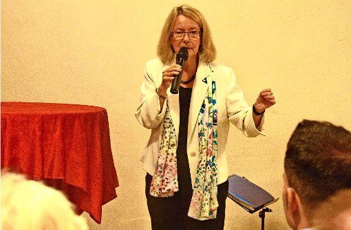 Evelyne Gebhardt sitzt seit dem Jahr 1994 im EU-Parlament. Foto: Petra Mostbacher-Dix