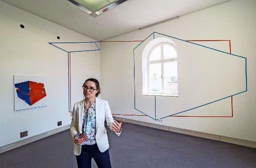 Die Museumsleiterin Madeleine Frey möchte jungen Künstlern ein öffentliches Forum bieten. Foto: factum/Weise
