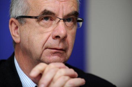 Vom Polizeipräsidenten zum Angeklagten? Siegfried Stumpf Foto: dpa