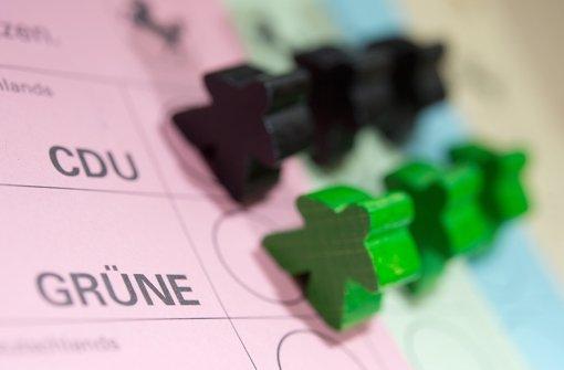 Ein grün-schwarzes Bündnis würde beiden Parteien nicht leicht fallen. Foto: dpa