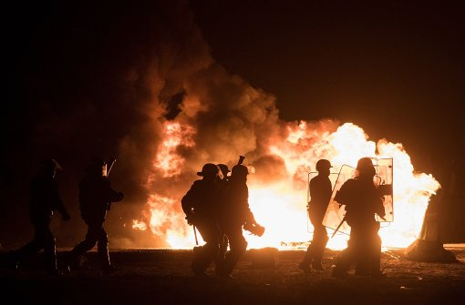 Polizei und Flüchtlinge geraten erneut aneinander