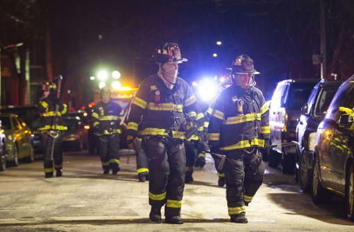 Zwölf Tote bei Brand in Bronx