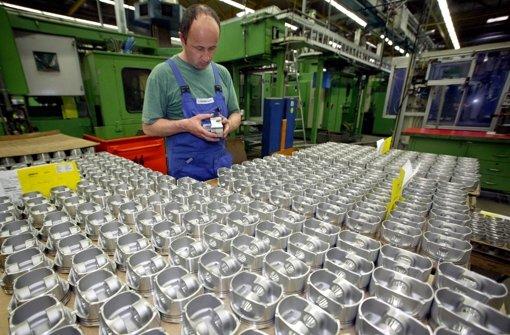 Kolbenproduktion im Mahle-Werk Rottweil Foto: dpa