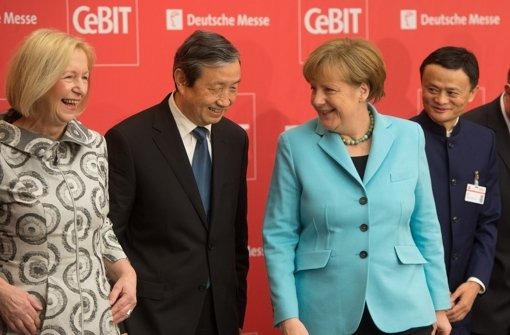 Die CeBIT startet in Hannover