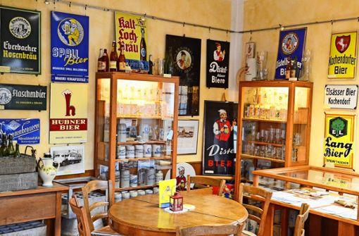 Das Brauereimuseum der Region  Main-Tauber-Odenwald  befindet sich in Hirschlanden. Dort waren die Ditzinger   Gast. Foto: Herrmann/privat