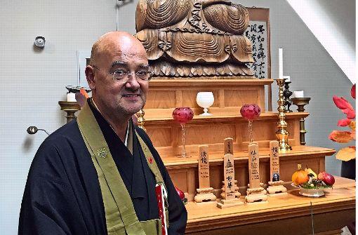 Zen-Meister   Olivier Reigen Wang-Genh Foto: Haar