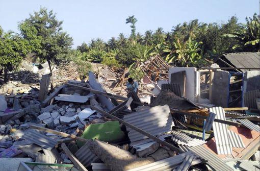Mindestens zehn Tote bei erneuten Erdbeben