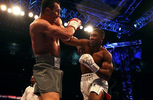 Joshua gewinnt dramatisches Duell gegen Klitschko