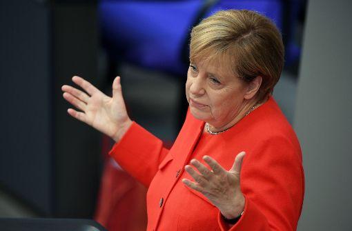 Kanzlerin Angela Merkel hat einen engen Kreis von Mitstreitern, denen sie vertraut. Foto: Getty