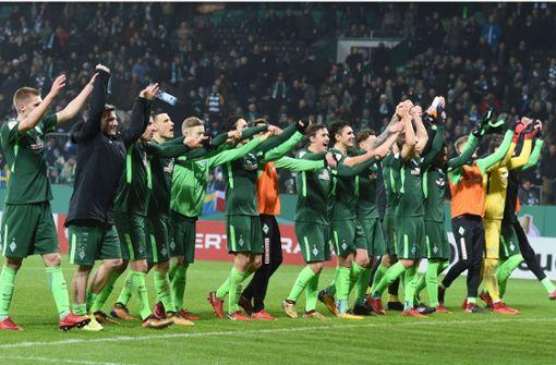 Auch Werder Bremen und Bayer Leverkusen im Viertelfinale