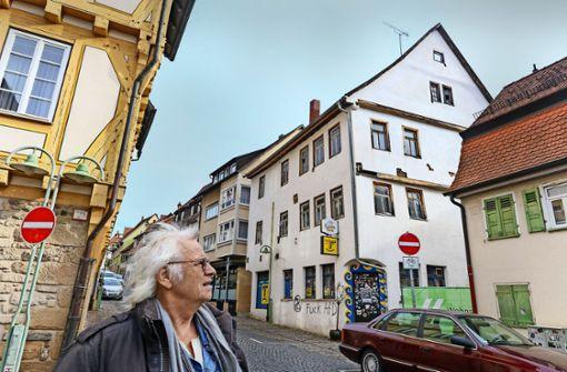 Noch in Betrieb: die Traube in der Sindelfinger Altstadt Foto: factum/Archiv