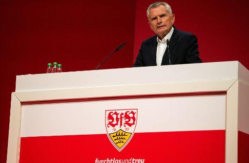 Wolfgang Dietrich kämpft für die Ausgliederung. Foto: dpa
