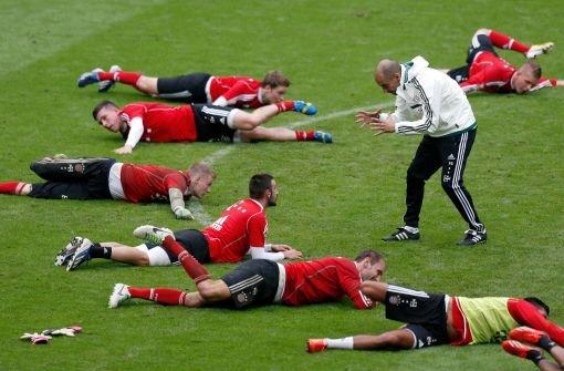 Zweites Training beim FC Bayern München