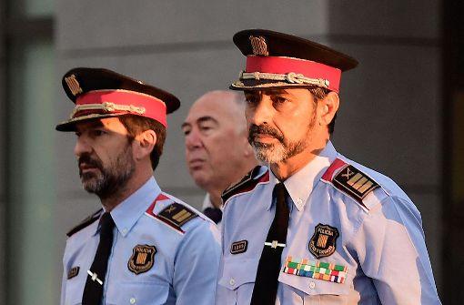 Katalanischer Polizeichef vorgeladen
