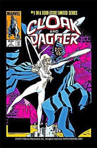 """Das Cover des ersten Hefts der """"Cloak & Dagger""""-Heftreihe im Jahr 1983 Foto: Marvel"""