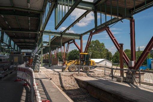 Die Baustelle am Hauptbahnhof im Juli 2013. Foto: www.7aktuell.de | Florian Gerlach