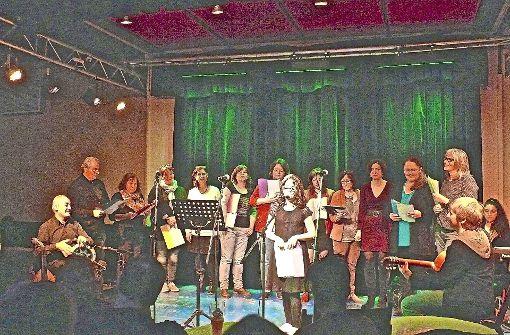 Singen und essen mit dem Chor der Herzen