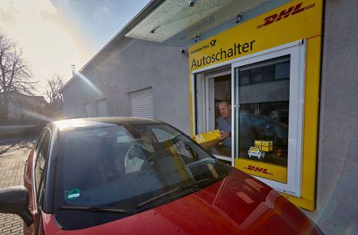 Bundesweit erster Autoschalter erfolgreich getestet
