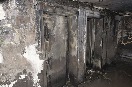 Der Blick ins Innere des Grenfell Towers. Foto: Metropolitan Police