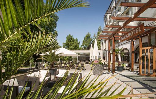 Mitten im Park - Genuss und Entspannung mit 9000 m² SPA-Bereich. Foto: Parkhotel Jordanbad Lerch GmbH